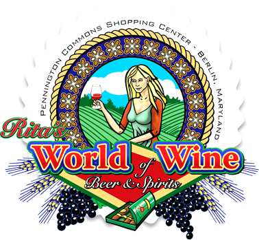 Rita's World of Wine Logo